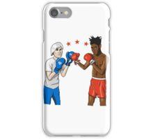 Warhol vs Basquiat iPhone Case/Skin