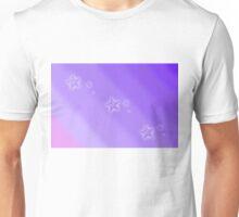 Starry purple sky Unisex T-Shirt