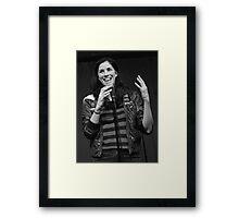 Sarah Silverman Framed Print