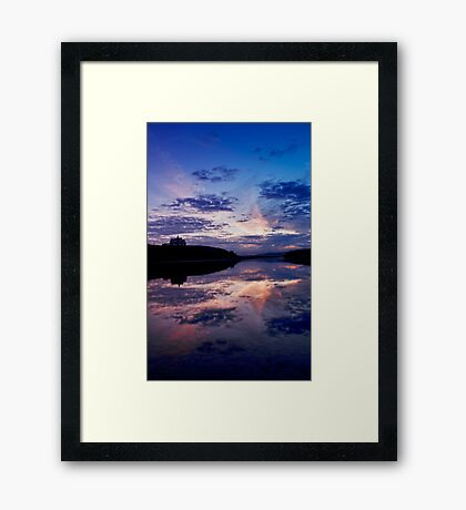 Sunrise over Waterton Lakes National Park and The Prince of Wales Hotel .2 Framed Print
