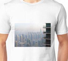 Buildings from Dubai Marina skyline. UAE. Unisex T-Shirt