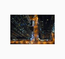 Buildings from Dubai Marina skyline at night. UAE. Unisex T-Shirt