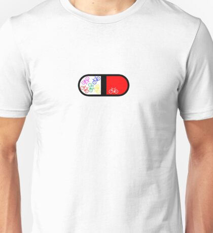 Bike Pill Unisex T-Shirt