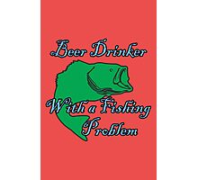 Beer Drinker Photographic Print