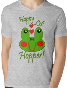 Happy Lil Hopper! Girl Mens V-Neck T-Shirt