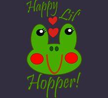 Happy Lil Hopper! Girl Women's Fitted V-Neck T-Shirt