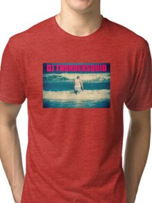 DJ THUNDERSQUID! Tri-blend T-Shirt