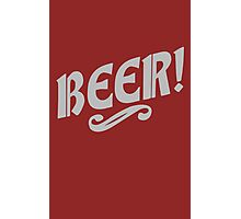 Beer! Photographic Print