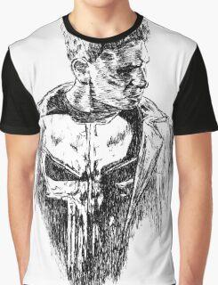 Punisher art Graphic T-Shirt