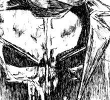 Punisher art Sticker