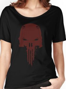 Daredevil / Punisher Women's Relaxed Fit T-Shirt