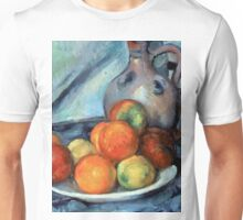 1894 - Paul Cezanne - Fruit and a Jug on a Table Unisex T-Shirt