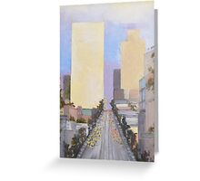 Building Heights Greeting Card