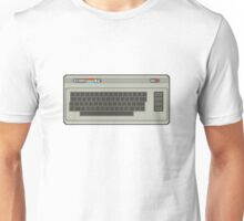 Commodore 64 Pixel Art Unisex T-Shirt