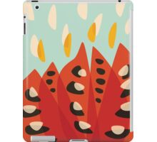 Abstract Red Tulip iPad Case/Skin