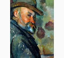 1894 - Paul Cezanne - Self-Portrait with a Hat Unisex T-Shirt