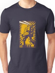 Purple Robot Unisex T-Shirt