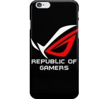 best of ROG logo iPhone Case/Skin