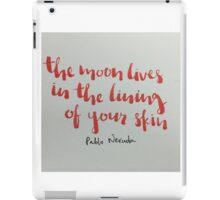 lining iPad Case/Skin