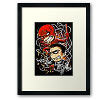 Dare to Punish! Framed Print