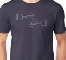 Flat Twin Blueprint Unisex T-Shirt