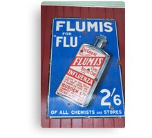 0177 Flumis Flu Cure Canvas Print