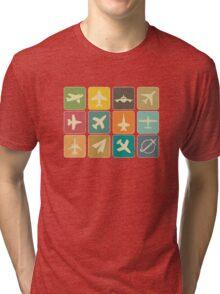 Plane Tri-blend T-Shirt