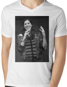 Sarah Silverman Mens V-Neck T-Shirt