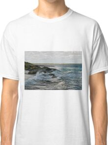 Seaside landscape in Western Australia on a cloudy day Classic T-Shirt