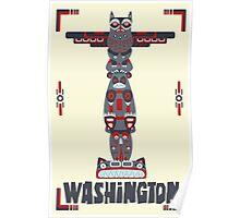 Washington State Poster Poster