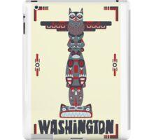 Washington State Poster iPad Case/Skin