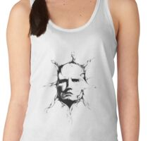 Thoughts extend out like rays from the sun Women's Tank Top