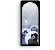Geisha Nigh Walk Canvas Print