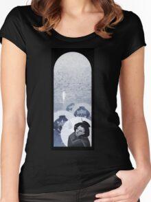 Geisha Nigh Walk Women's Fitted Scoop T-Shirt
