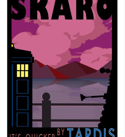 SKARO QUICKER BY TARDIS Sticker