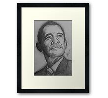 The President  Framed Print