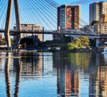 ANZAC Bridge, Reflection on Blackwattle Bay Sticker
