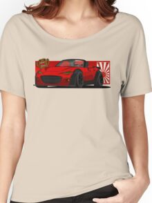 Mazda Miata MX 5 Women's Relaxed Fit T-Shirt