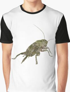 Insect Texture Outline Graphic T-Shirt