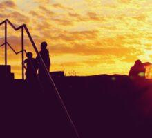 Sydney Sunrise & Silhouettes Sticker