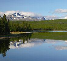 Big Lake, Mount Tatlow by Darbs