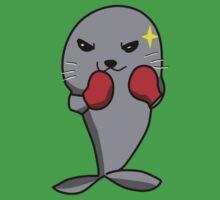 Boxing Seal Kids Tee