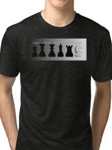 Chess Impression Tri-blend T-Shirt