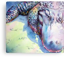 Alligator 4 Canvas Print