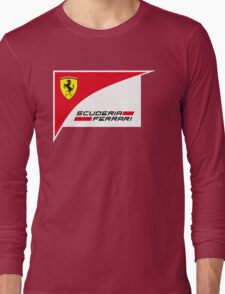 logo Scuderia Ferrari team formula one Long Sleeve T-Shirt