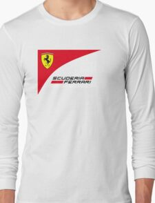 logo Scuderia Ferrari team formula one Long Sleeve T-Shirt