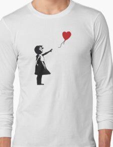 Banksy - Girl with Balloon Long Sleeve T-Shirt