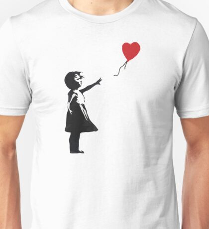 Banksy - Girl with Balloon Unisex T-Shirt