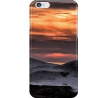 Ice Dunes At Sunset - Erie, PA iPhone Case/Skin