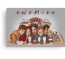 Enemies Canvas Print